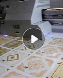 3216uv平板打印机打印视频