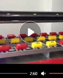 酒瓶圆柱体打印机打样视频