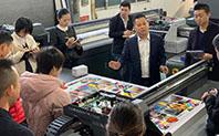 勿忘初心,共同进步,润彩全新平板打印机业务团队技术知识培训
