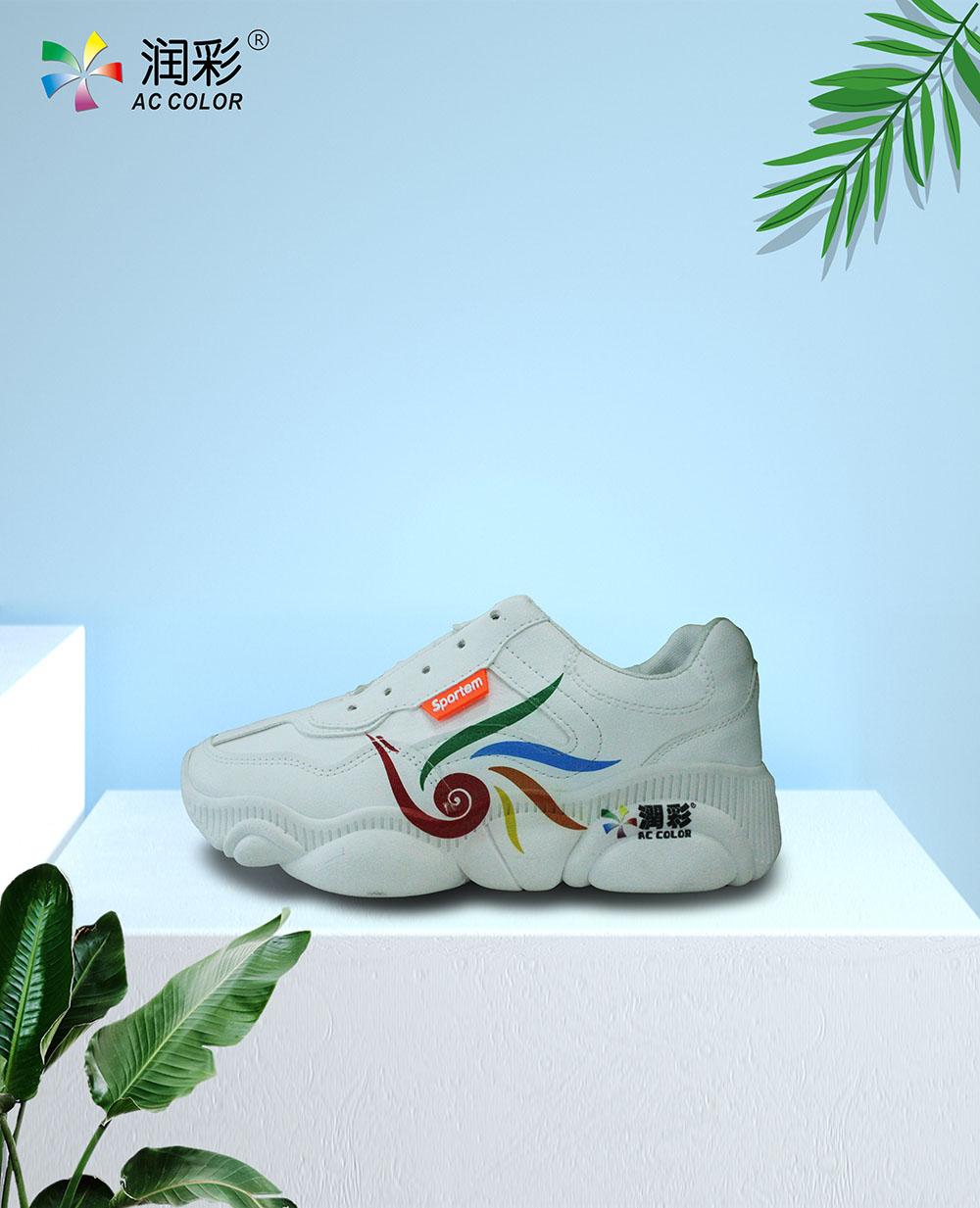 帆布鞋洞洞鞋鞋面uv平板打印效果